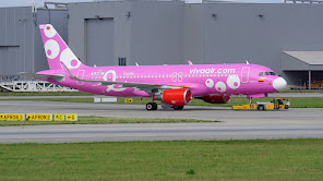 A320 Vivaair Columbia in special cs