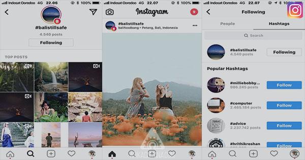 Cara Follow atau Unfollow Hashtags di Instagram Dengan Mudah