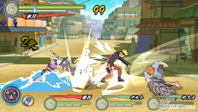 naruto shippuden ultimate ninja heroes 3 psp android download