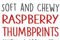 Raspberry Thumbprint Cookies Recipe (grain-free, gluten-free, dairy-free)