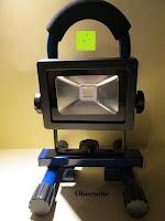 Erfahrungsbericht: as - Schwabe Chip-LED-Akku-Strahler 10 W, geeignet für Außenbereich, Gewerbe, blau, 46971
