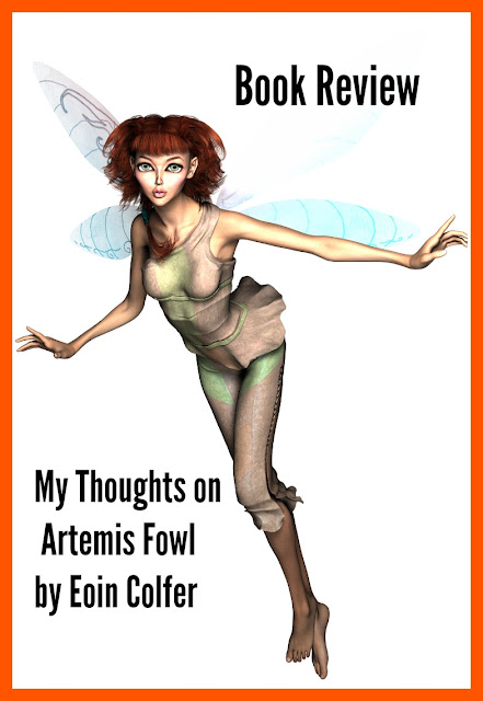Book Review: My Thoughts on Artemis Fowl by Eoin Colfer