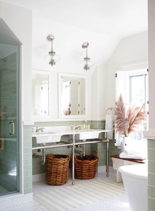 Modern Country Style: Modern Country Bathroom