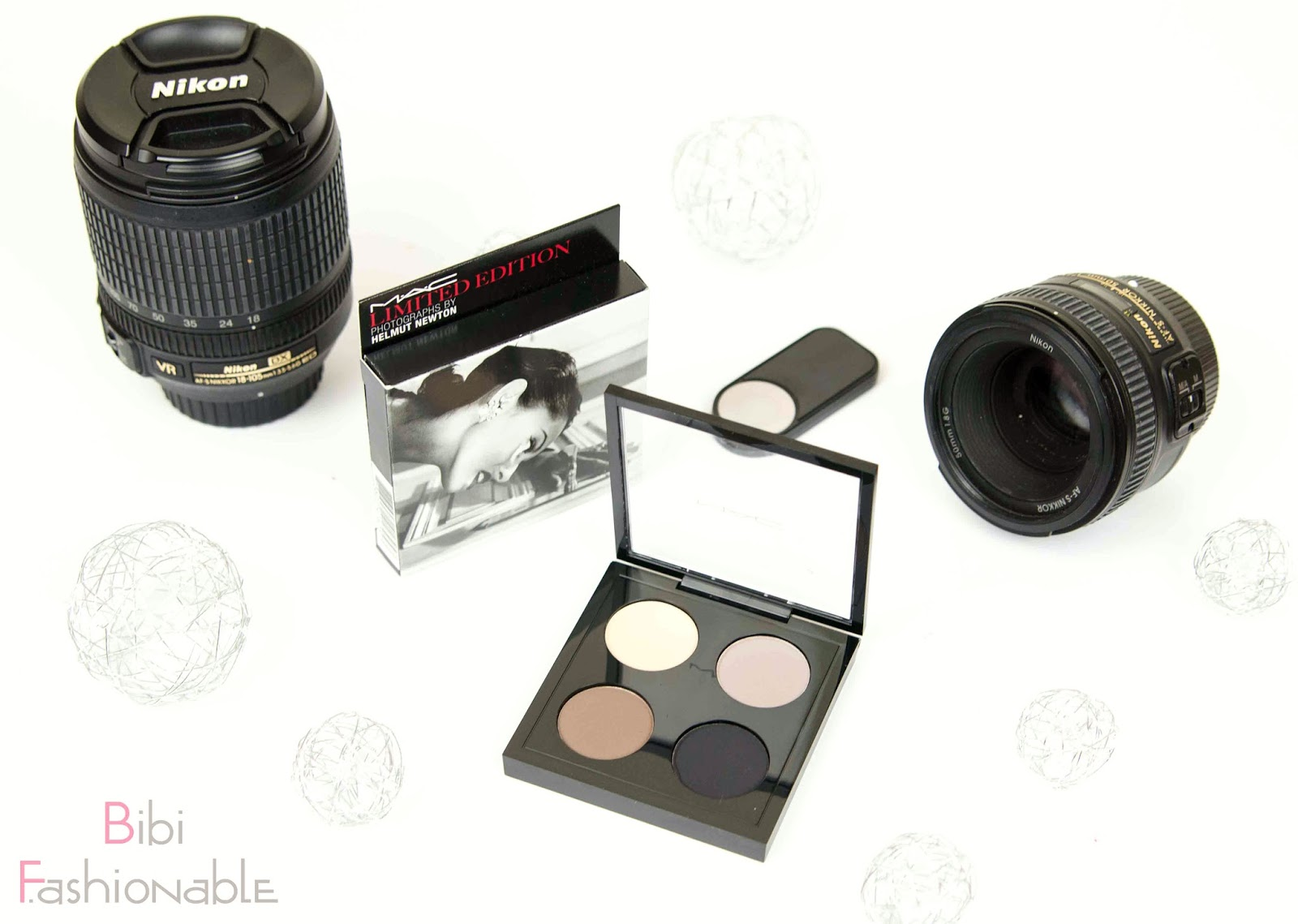 MAC Helmut Newton Limited Edition Point n Shot Quad Titelbild