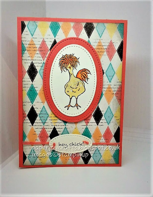 Stampin Up, Hey Chick, Cupcakes and Carousels,PaperjayCrafts