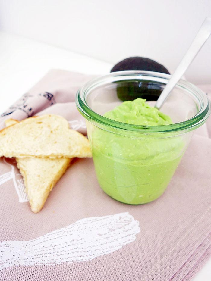Avocado-Gorgonzola Aufstrich