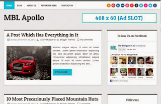 MBL Apollo Blogger Template