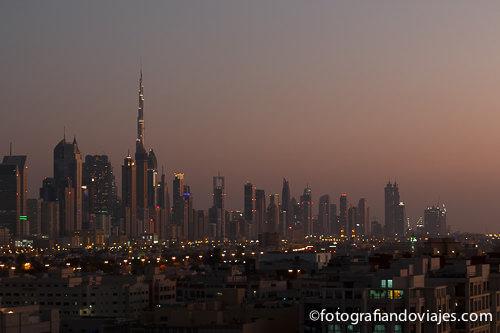 Burj Khalifa en Dubai Emiratos Arabes