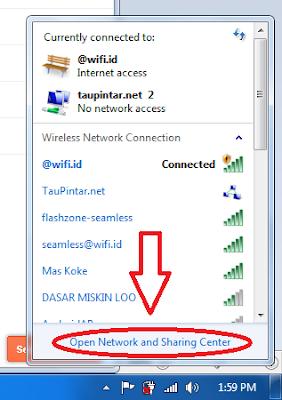 Cara Setting wifi No internet Akses menjadi Internet Akses