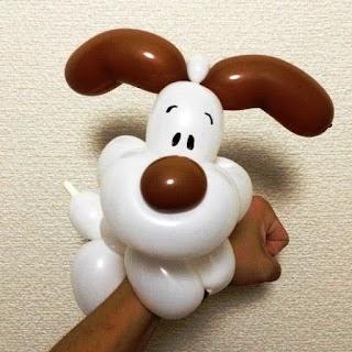 Gambar Balon Karakter Puppy_Anak Anjing Lucu_Balloon Character Puppy_12