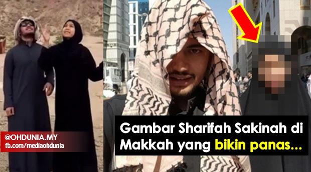 Inilah Gambar Sharifah Sakinah Di Makkah Yang Bikin Panas