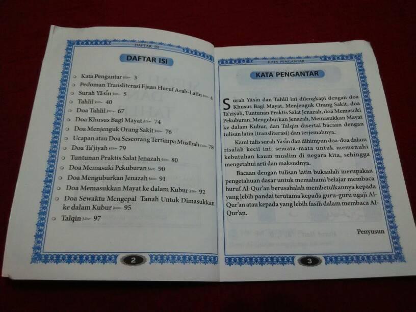 Buku Surat Yasin Dan Tahlil Pdf