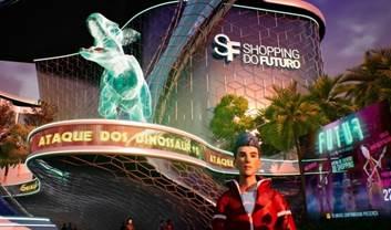 Realidade Virtual leva visitantes ao Shopping do Futuro no Parque D. Pedro