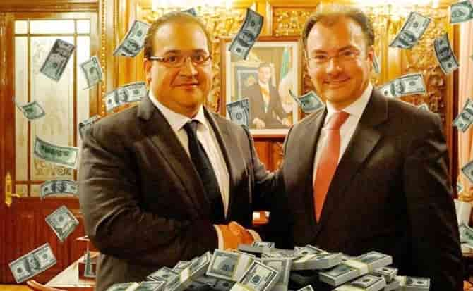 Videgaray, Duarte, dinero