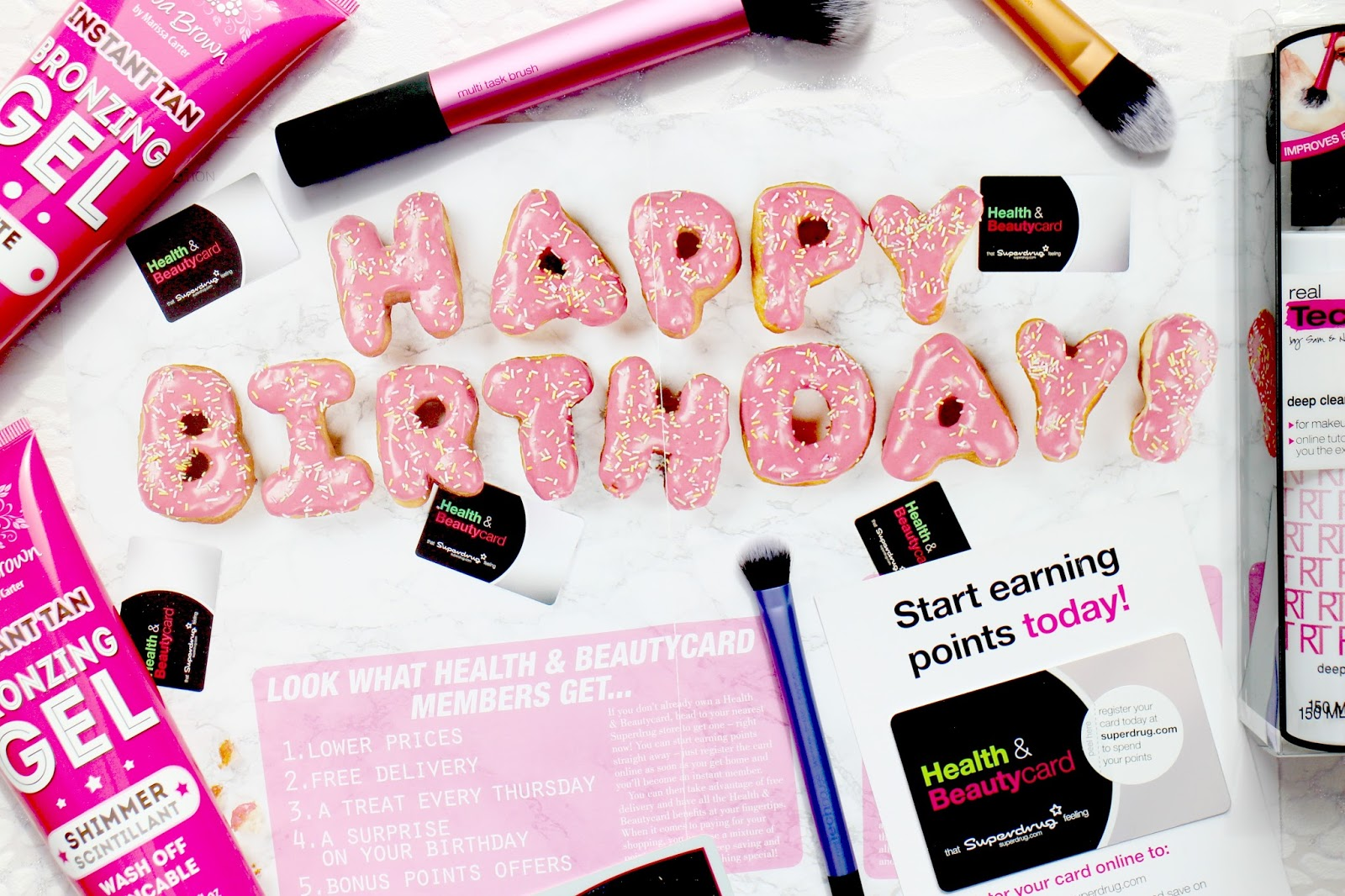 Superdrug Birthday Beauty Haul Post