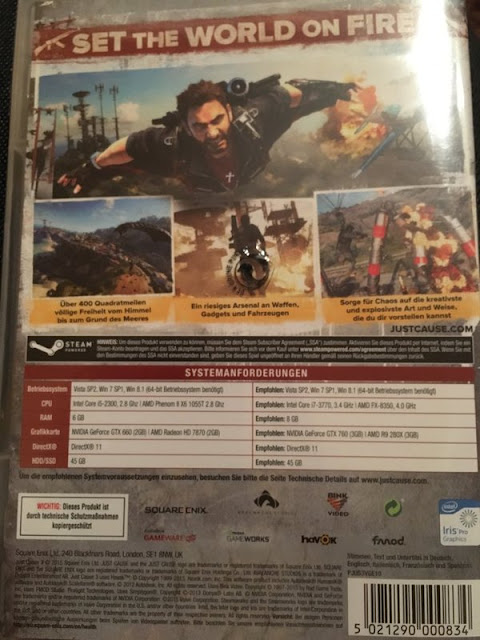 Just Cause 3 requisitos