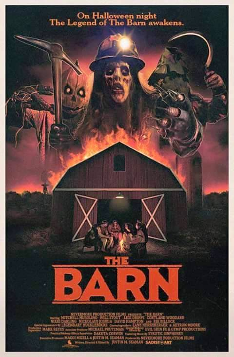 the barn 80's horror movie