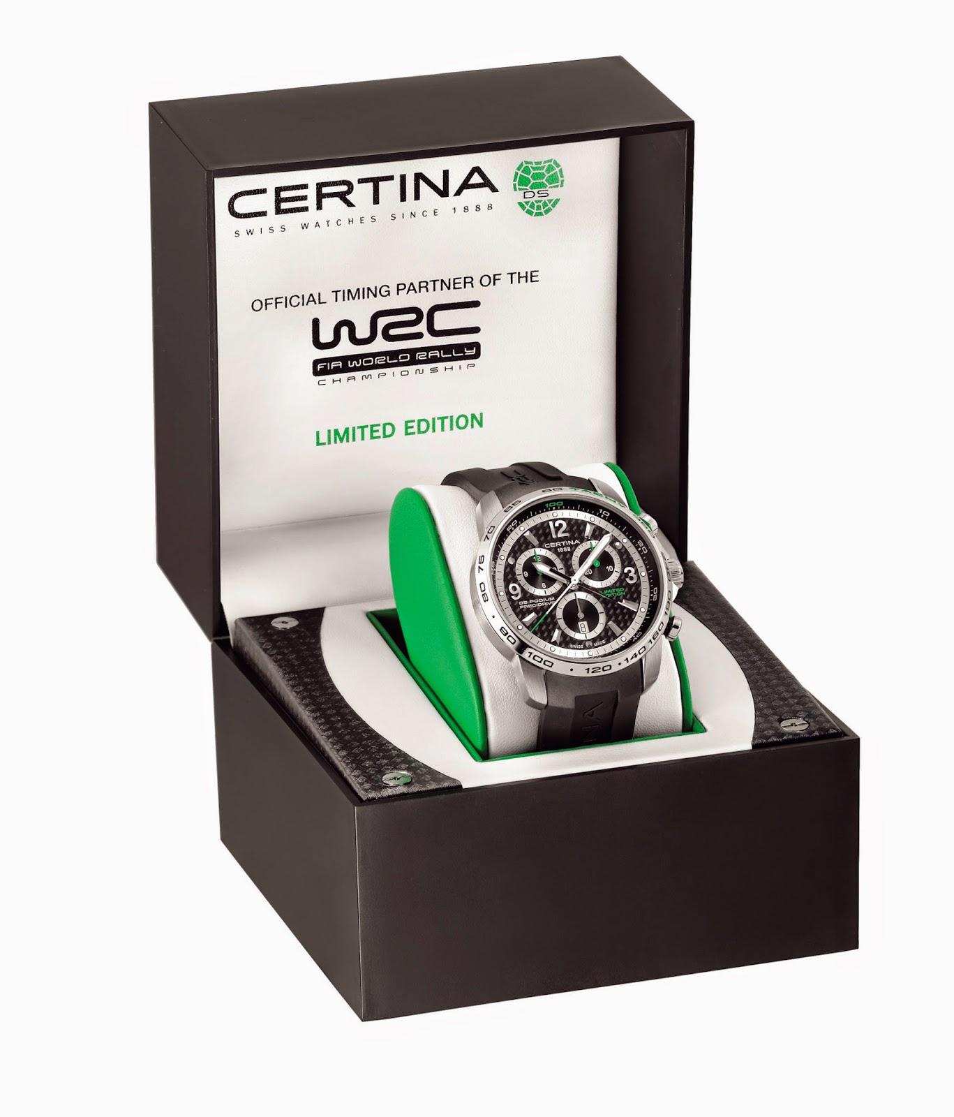 Certina Ds Podium Big Size Chrono WRC Edición Limitada2