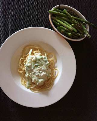 recipe for pasta with asparagus