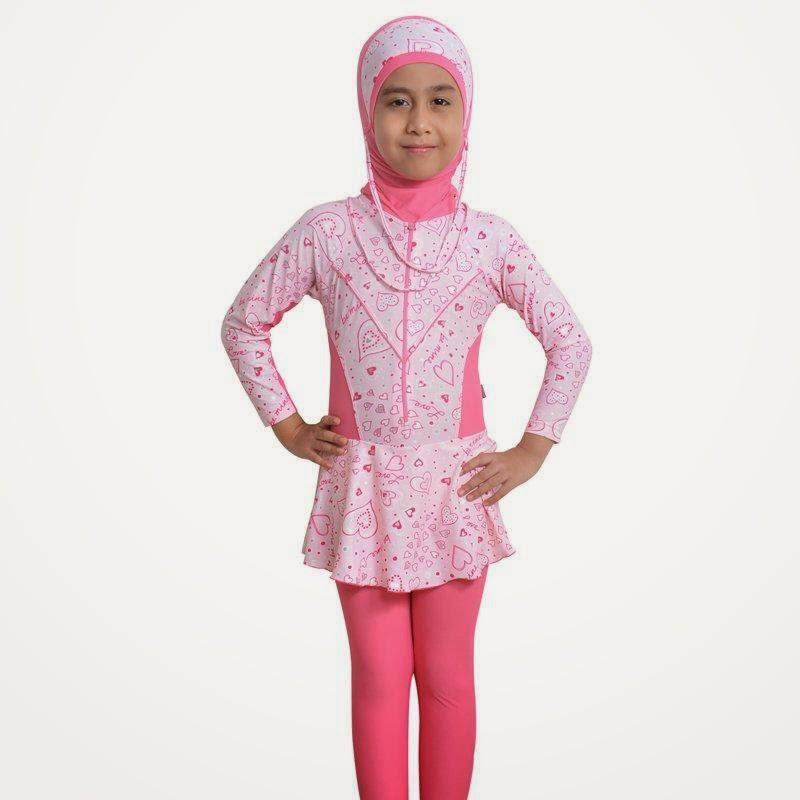 Baju Renang Muslim Untuk Anak