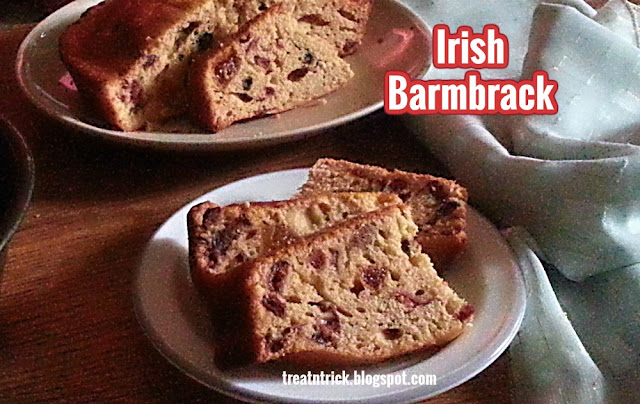 Irish Barmbrack Recipe @ treatntrick.blogspot.com