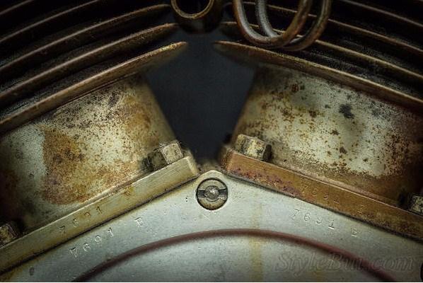 Xe cổ Harley Davidson 1912 Model X8E 988.5cc V-twin