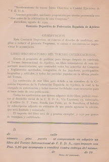 Programa del Torneo Internacional de Ajedrez Barcelona 1929 (8)