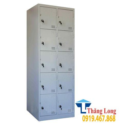 Mẫu tủ locker 10 ngăn