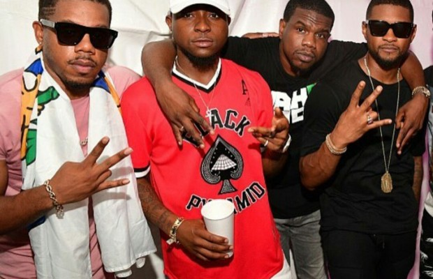Davido Hangs out with Usher In Atlanta