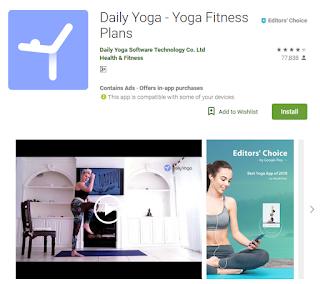 aplikasi daily yoga apps