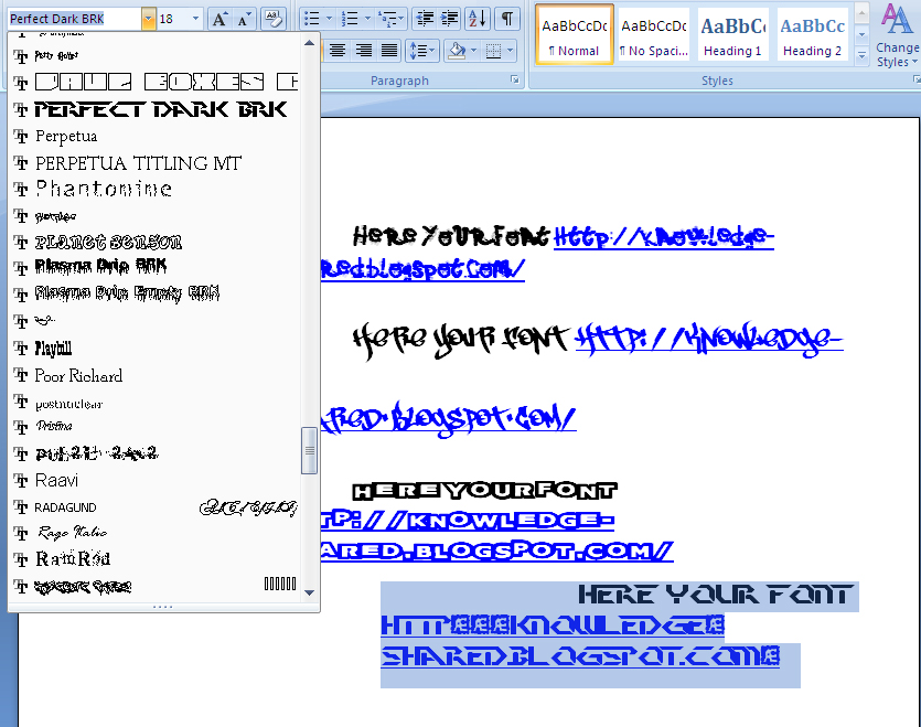 How To Add Fonts On Computer Microsoft Office Word Library Science