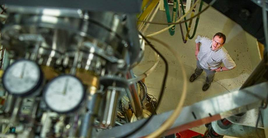 Dr Anton Wallner inwards the Nuclear Physics Department at ANU Ocean Floor Dust Gives New Insight into Supernovae