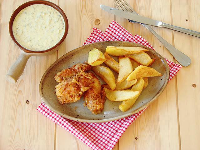 Recette des fish & Chips.