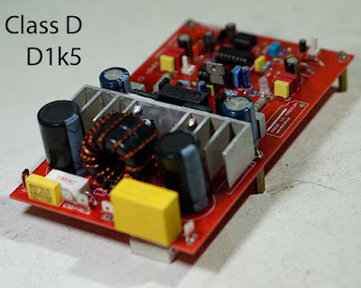 Power Amplifier class d 1500W