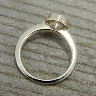 semi mount halo ring