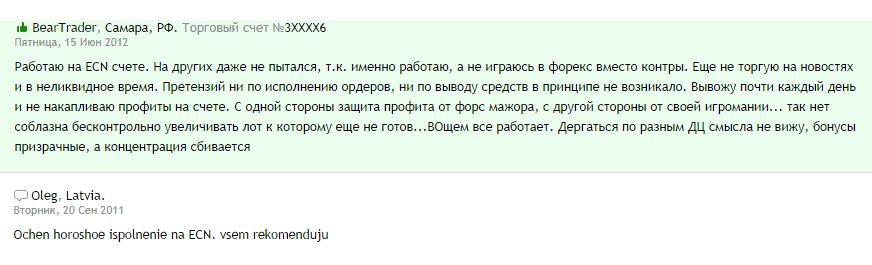 Отзывы о FXOpen