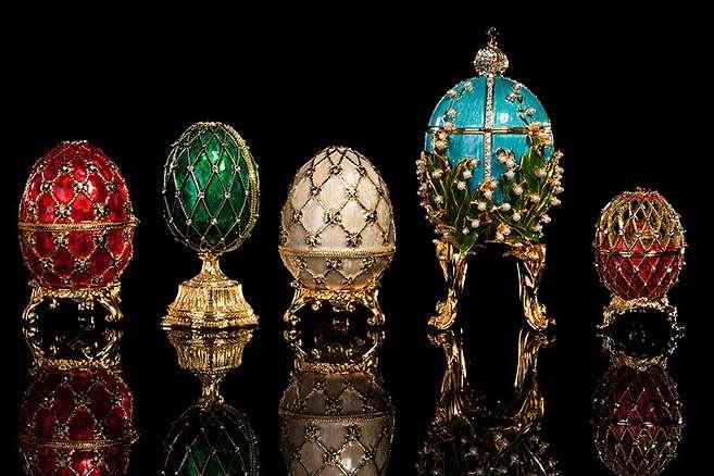 Τα περίφημα πασχαλινά αυγά του Φαμπερζέ