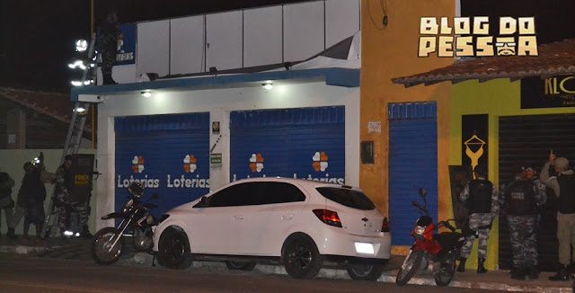 Resultado de imagem para assalto a lotérica do betania em parnaiba