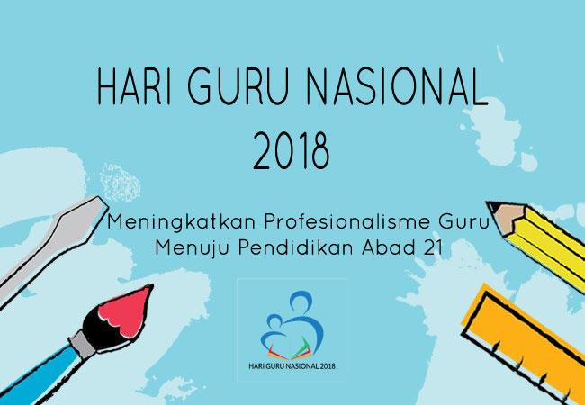 Hari Guru Nasional 2018