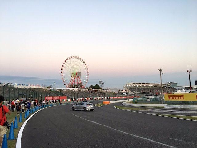 F1日本グランプリ2017 西コーストラックウォーク 最終コーナー