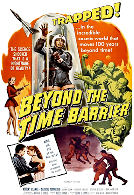 Poster - Beyond the Time Barrier (1960)