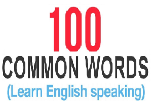 100 kosa kata dalam bahasa Inggris yang paling sering di gunakan