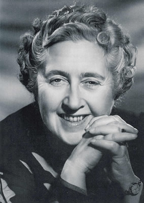 Agatha Christie (September 15, 1890 – January 12, 1976)