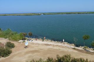 Zigurat, mirador del Delta del Ebro.