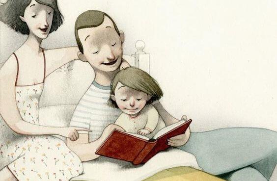 Acuesta a tus hijos leyendo un libro, no viendo la televisión