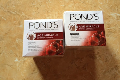 Review PONDS Age Miracle Day and Night Cream