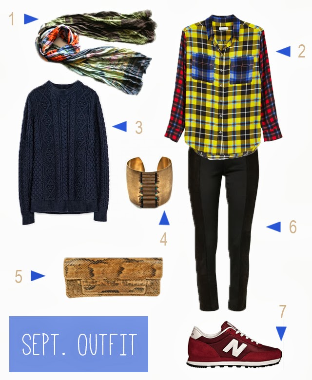 look de septembre -lovmint
