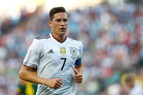 Bây giờ, Julian Draxler đã có 35 lần khoác áo đội tuyển Đức.