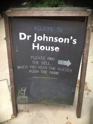 Visiting Dr Johnson's House