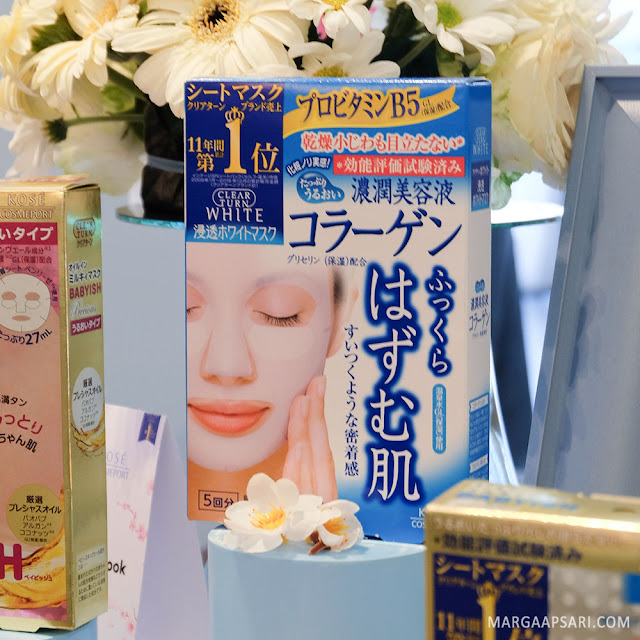 Kose Cosmeport Clear Turn White Mask